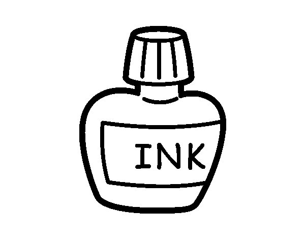 Desenho de Tinta nanquim para Colorir