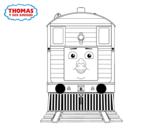 Desenho de Toby de Thomas e seus amigos para colorear