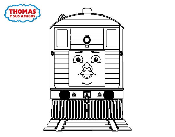 Asombroso Thomas El Tren Para Colorear Páginas Gratis Bosquejo ...