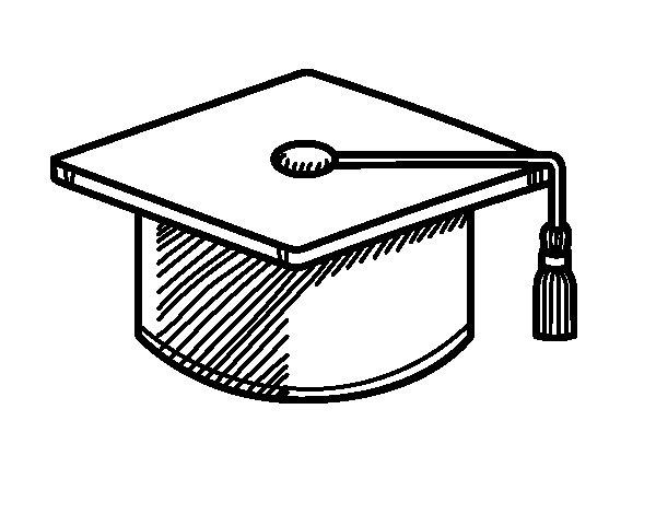 Desenho de Tocco accademico para Colorir