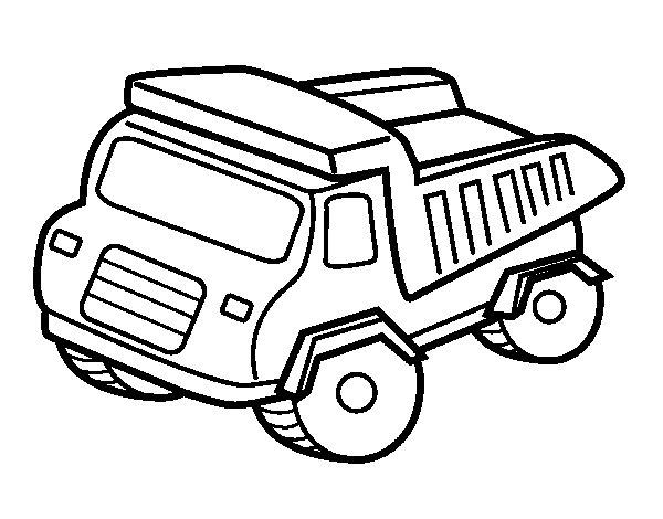 Desenho de Tombador para Colorir