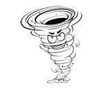 Desenho de Tornado Força 3 para colorear