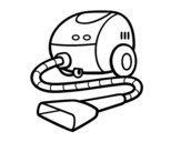 Desenho de Um aspirador para colorear