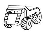 Dibujo de Um caminhão de carga