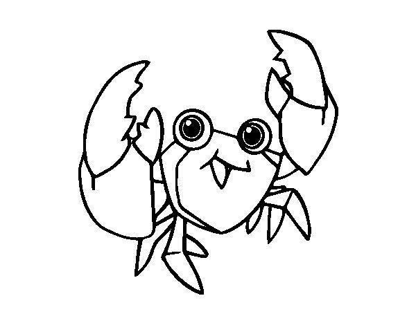 Desenho de Uma navalheira para Colorir