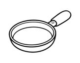 Desenho de Uma paella para colorear