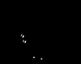 Desenho de Velociráptor bebé para colorear