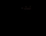 Desenho de Wide receiver para colorear
