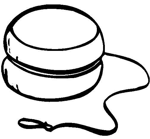 Desenho de Yoyo para Colorir