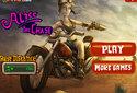 Alice, o motociclista aventureiro