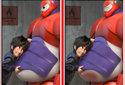 Diferenças Big Hero 6 - Os Novos Heróis