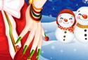 Jogar a Manicure, Especial de Natal da categoria Jogos de natal