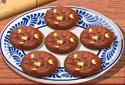 O chocolate biscoitos Sara