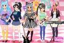 Jogar a Rock dress-up da categoria Jogos para meninas