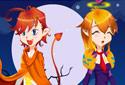 Jogar a Vilma e Ainhoa da categoria Jogos de halloween