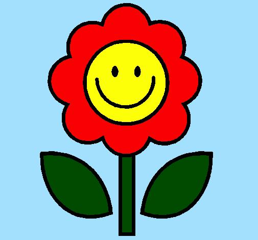 Desenho De Flor 2 Pintado E Colorido Por Usuario Nao Registrado O