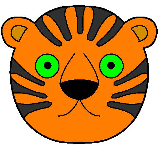 Desenho De Tigre Ii Pintado E Colorido Por Usuario Nao Registrado