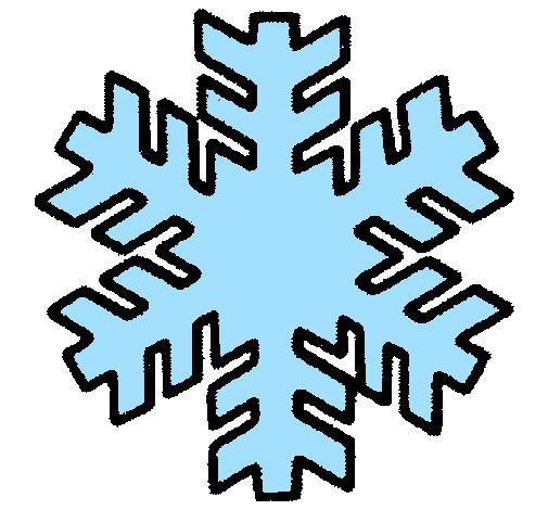 Desenho De Copo De Neve Pintado E Colorido Por Usuario Nao