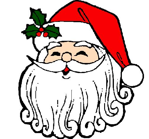 Desenho De Cara Natal Pintado E Colorido Por Usuario Nao