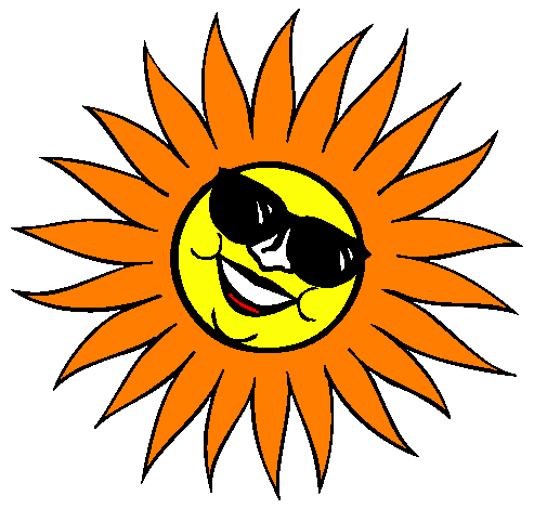 desenho de sol