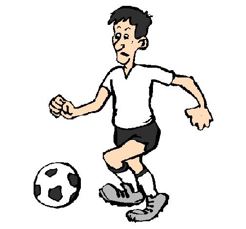 Desenho De Jogador De Futebol Pintado E Colorido Por Usuario Nao