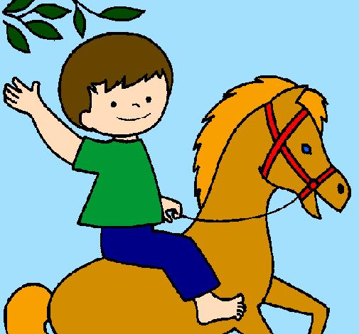 Desenho De Cavalo Pintado E Colorido Por Usuario Nao Registrado O
