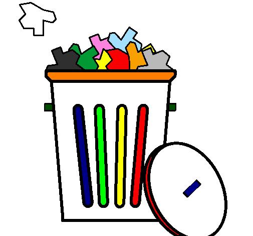 Desenho De Papeleira Pintado E Colorido Por Usuario Nao Registrado