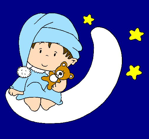 Desenho De Bebe Pintado E Colorido Por Usuario Nao Registrado O