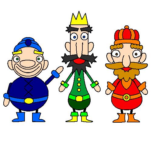 Desenho De Reis Magos Pintado E Colorido Por Usuario Nao