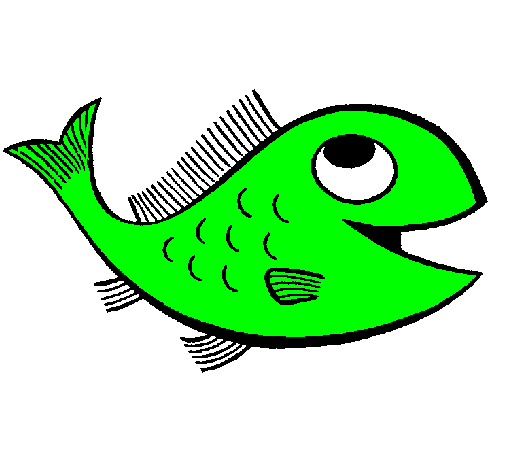 Desenho De Peixe Pintado E Colorido Por Usuario Nao Registrado O