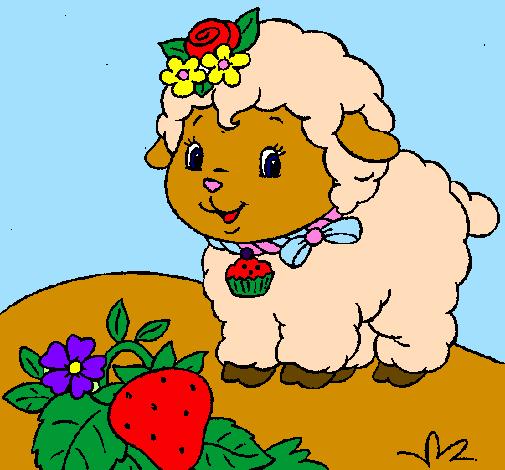 Desenho De Ovelha 4 Pintado E Colorido Por Usuario Nao Registrado