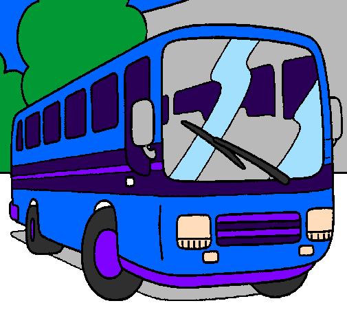 Desenho De Autocarro Pintado E Colorido Por Usuario Nao Registrado