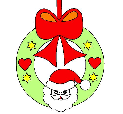 Desenho De Enfeite Natalicio Pintado E Colorido Por Usuario Nao