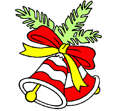 Desenho De Sinos De Natal Pintado E Colorido Por Usuario Nao