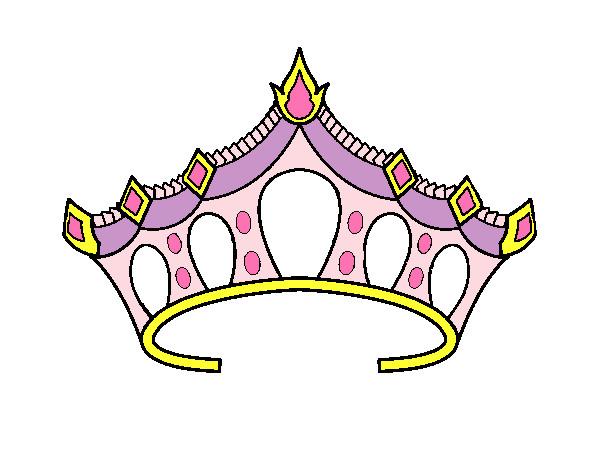 Desenho De Princesa Pintado E Colorido Por Luizam O Dia 01 De
