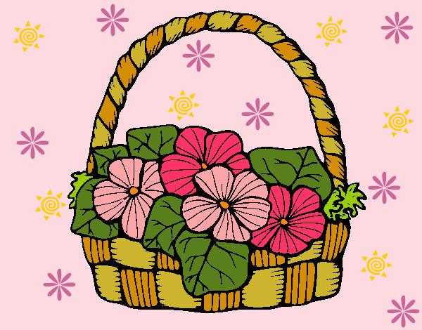 Desenho De Flores Delicadas Pintado E Colorido Por Fabik O Dia 20