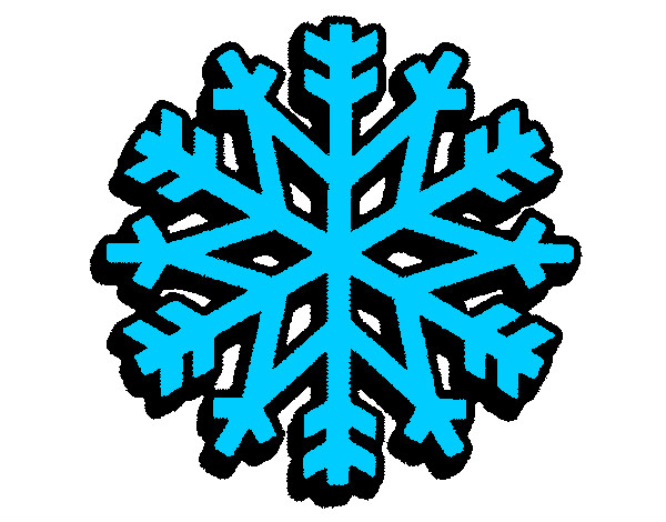 Desenho De Neve No Natal Pintado E Colorido Por Vito O Dia 13 De