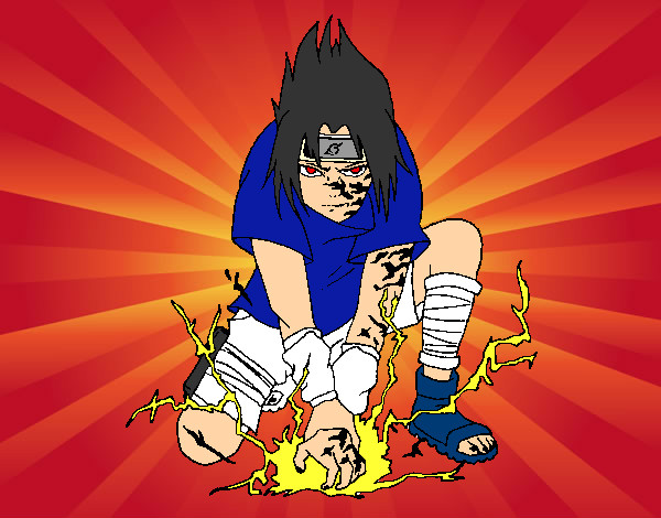 Desenho De Sou Sasuke Uchiha Pintado E Colorido Por Nelson7894 O