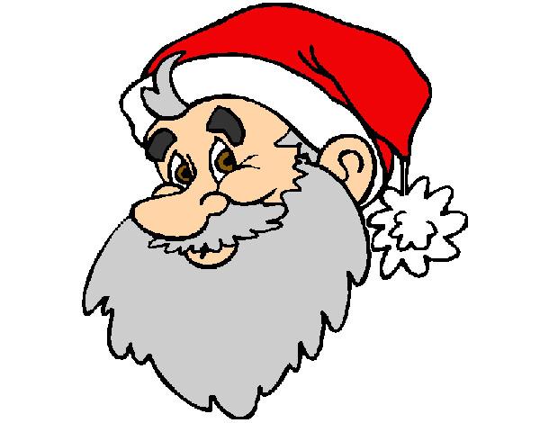 Desenho De Papai Noel Pintado E Colorido Por Thaiss O Dia 07 De