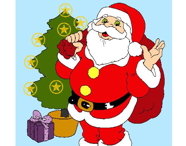 Desenho De Feliz Natal Pintado E Colorido Por Cambraia O Dia 05 De