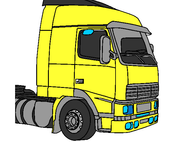 Desenho De Scania Pintado E Colorido Por Joaobatist O Dia 18 De