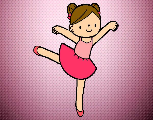 Desenho De Bailarina De Bale Pintado E Colorido Por Sophia2000 O