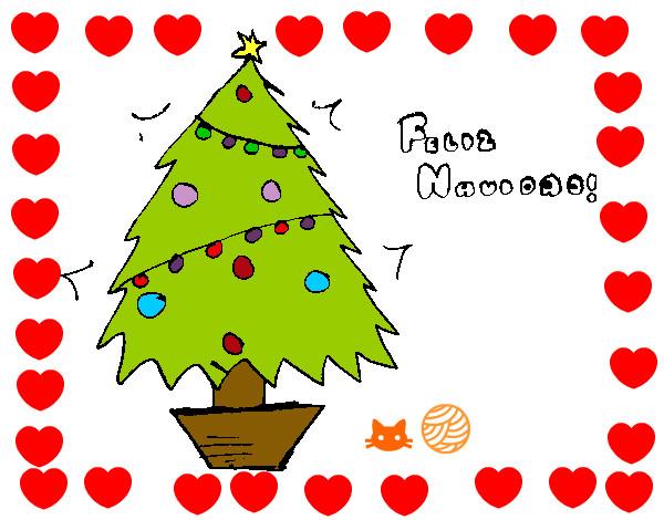Desenho De Feliz Natal 2 Pintado E Colorido Por Tili O Dia 11 De
