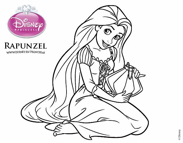 Desenho De Entrelacados Rapunzel Com Luzes Flutuantes Pintado E