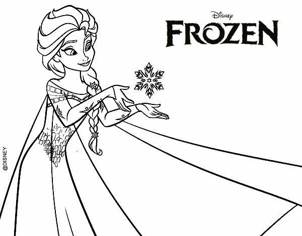 Desenho De Frozen Elsa Pintado E Colorido Por Usuario Nao