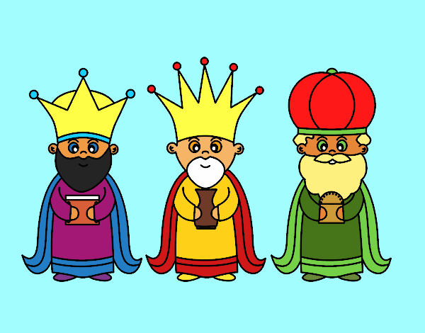 Desenho De Os 3 Reis Magos Pintado E Colorido Por Alais O Dia 30
