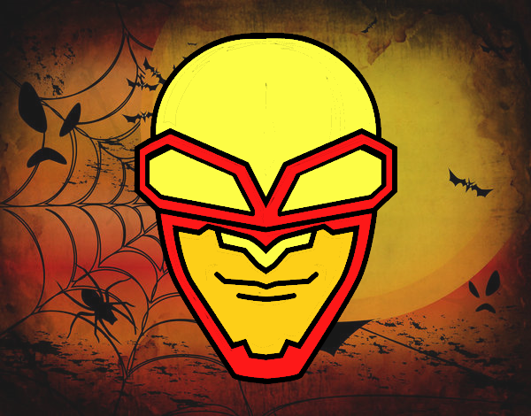 Desenho De Mascara Do Terror Pintado E Colorido Por Usuario Nao