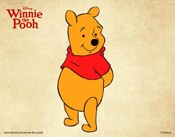 Desenho De Ursinho Pooh O Urso Pintado E Colorido Por Betamarcus
