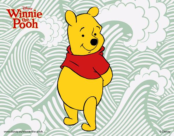 Desenho De Ursinho Pooh O Urso Pintado E Colorido Por Brenda5468