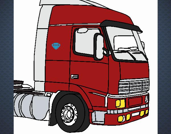 Desenho De Scania Topzera Pintado E Colorido Por Usuario Nao